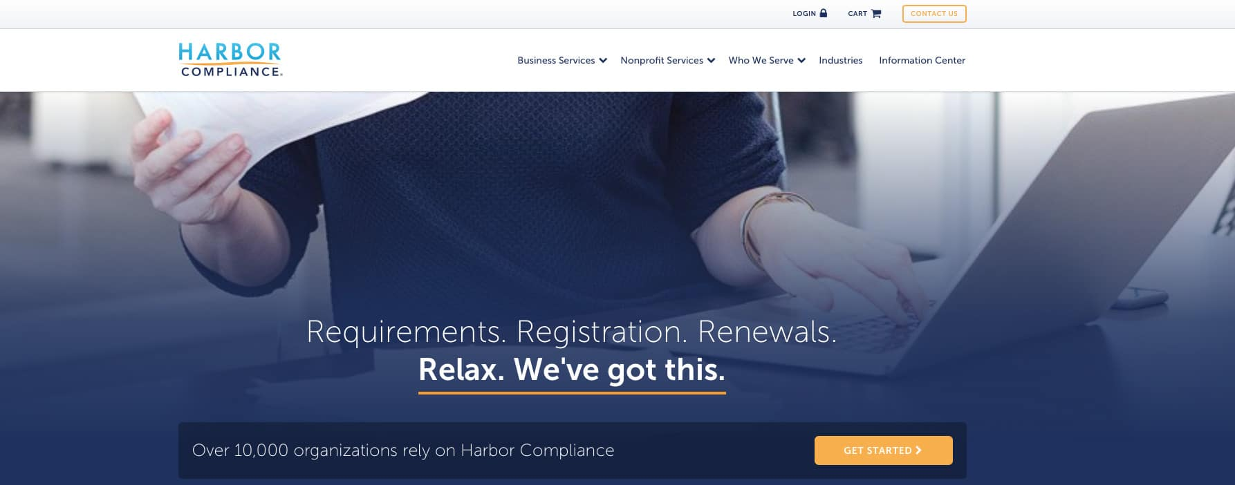 Harbor Compliance Home Page