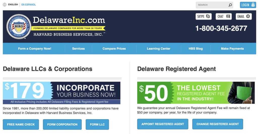 delawareinc.com