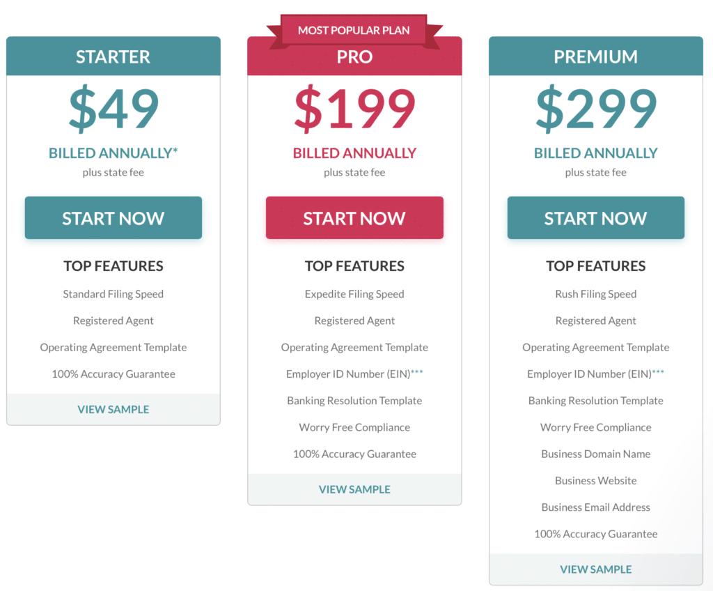 zen business pricing