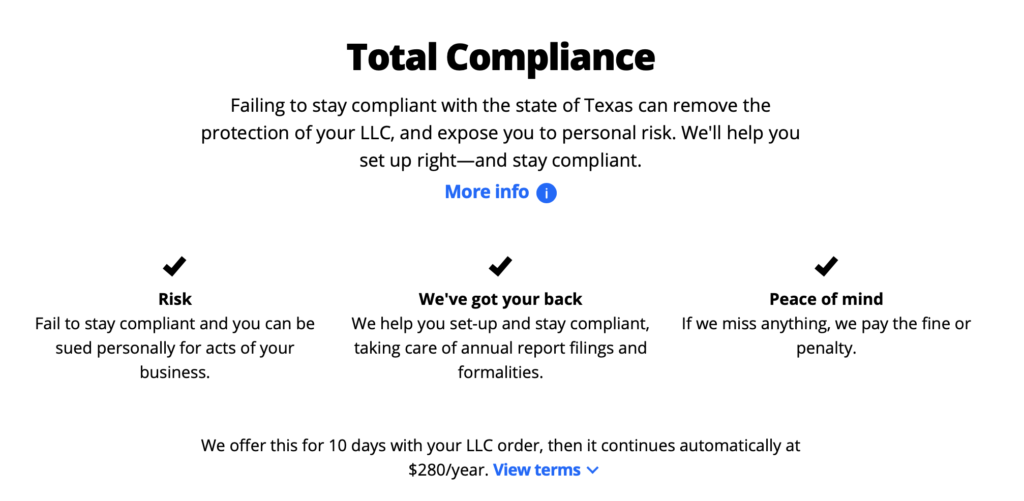 Legalzoom Total Compliance